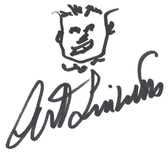Art Linkletter - Image: Art Linkletter (autograph)