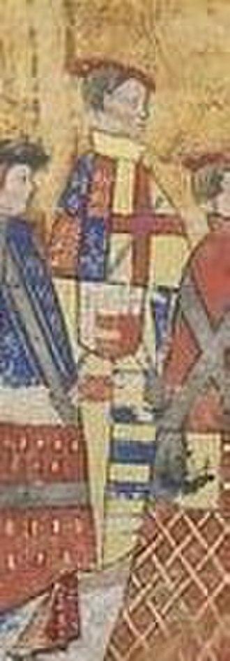 Arthur Plantagenet, 1st Viscount Lisle - Arthur Plantagenet at a Garter Ceremony c. 1534. From The Black Book of the Garter, 1534