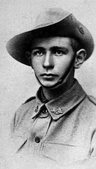 54th Battalion (Australia) - Arthur Hall, one of the 54th Battalion's two Victoria Cross recipients