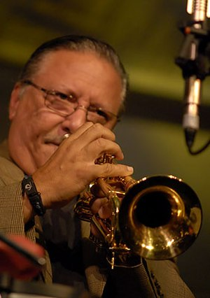 Grammy Award for Best Latin Jazz Album - Two-time award winner Arturo Sandoval, performing in 2008