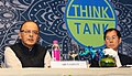"""Arun Jaitley delivering the keynote address at a two-day 'Asian Think Tank Development Forum-2016', on the theme """"Promoting Sustainable Urbanization in Asia Pacific"""".jpg"""