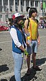 Ash Ketchum & Misty cosplayers at NCCBF 2010-04-18.JPG