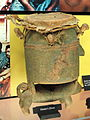Ashanti hunter's drum - Springfield Science Museum - Springfield, MA - DSC03376.JPG