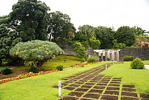 Legislative Assembly of the Azores - The manicured gardens within the grounds of the Assembleia Legislativa