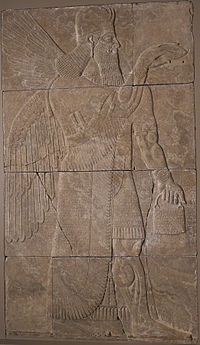 Assyrian - Relief with Winged Genius - Walters 218.jpg