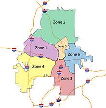 Atlanta Zones Map Atlanta Police Department   Wikipedia