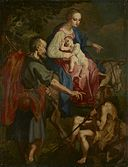 Attributed to Ventura Salimbeni - The Flight into Egypt - 70.19.1 - Minneapolis Institute of Arts.jpg