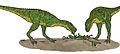 Aucasaurus in titanosaur nest 01.JPG