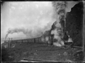 Auckland Express leaving Wellington; class A Locomotive, 1909 ATLIB 272867.png