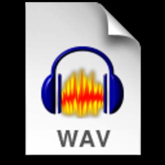 WAV - Image: Audacity WAV