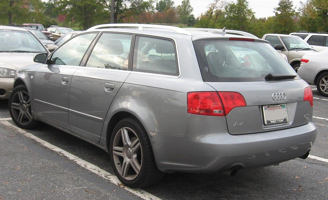 Fichier Audi A4 Avant B7 Jpg Wikip 233 Dia