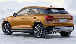 Audi Q2 - Image: Audi Q2