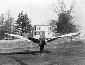 Augustus Moore Herring - An early glider by Herring