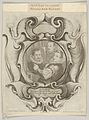 Auricular Cartouche with the Painter Hans von Aachen, the Goldsmith Paulus van Vianen, and the Sculptor Adriaen de Vries MET DP835350.jpg