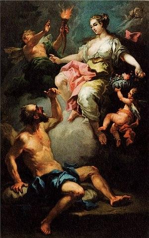 Morpheus (mythology) - Image: Aurora weckt Morpheus
