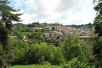 Auroux - A general view of Auroux