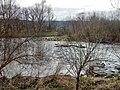 Ausblick von der EuroVelo-Route 6, Atlantik - Schwarzes Meer oder D-Route 6 (Donau-Radweg in Deutschland), hier in der Nähe von Riedlingen, auf die Donau (Trennung Hochwasserkanal und Donau) - panoramio.jpg