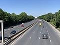 Autoroute A104 vue depuis Pont Avenue Paul Vaillant Couturier Villepinte Seine St Denis 2.jpg