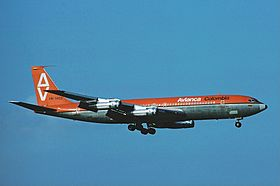 Avianca Boeing 707 Zurich Airport - April 1976.jpg