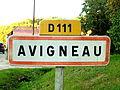 Avigneau-FR-89-panneau d'agglomération-2.jpg