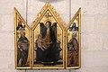 Avignon, Musée du Petit Palais, Triptyque - La Vierge et l'Enfant (Francesco Botticini, Florence, 15.) (28839932748).jpg
