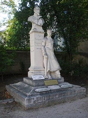 Agricol Perdiguier - Statue of Agricol Perdiguier, Square Agricol in Avignon