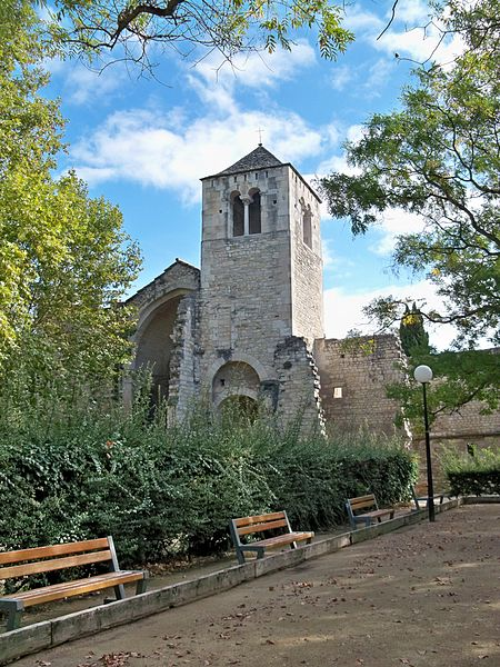 Abbaye de Saint Ruf à Avignon: vue générale