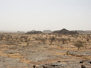 Aoukar Natural region in Mauritania