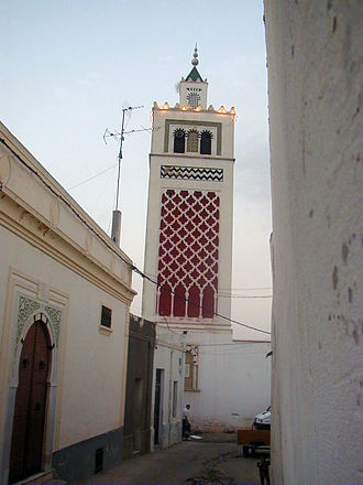 Béja - The Great Mosque of Béja.