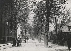 Bülowsvej - Bÿlowsvej in the 1900s