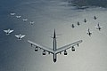 B-52 Stratofortress leads a formation over the Baltic Sea (2).jpg