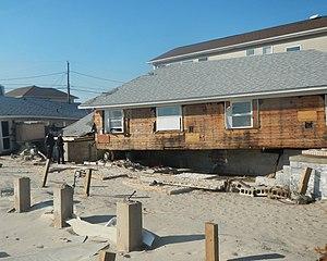 Breezy Point, Queens - Hurricane Sandy damage