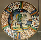 BLW Dish with man on horseback.jpg