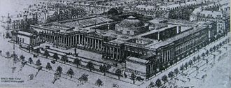 Proposed British Museum Extension, 1906 BM; Archives - Impression of the proposed extension.jpg