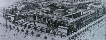 Proposed British Museum Extension, 1906