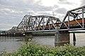 BNSF 9.6 railroad bridge, train crossing swing span.jpg