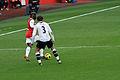 Bacary Sagna & Gareth Bale (5195075764).jpg