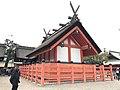Backview of 3rd Hongu of Sumiyoshi Grand Shrine.jpg