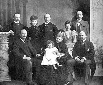 Baden Powell (mathematician) - Image: Baden Powell family