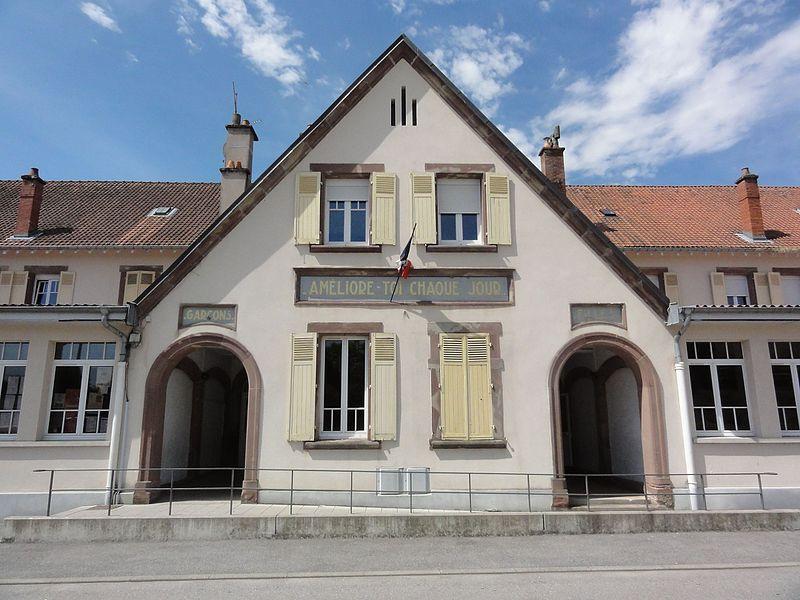 Badonviller (M-et-M) école