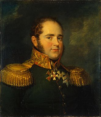 Karl Gustav von Baggovut - Portrait by George Dawe