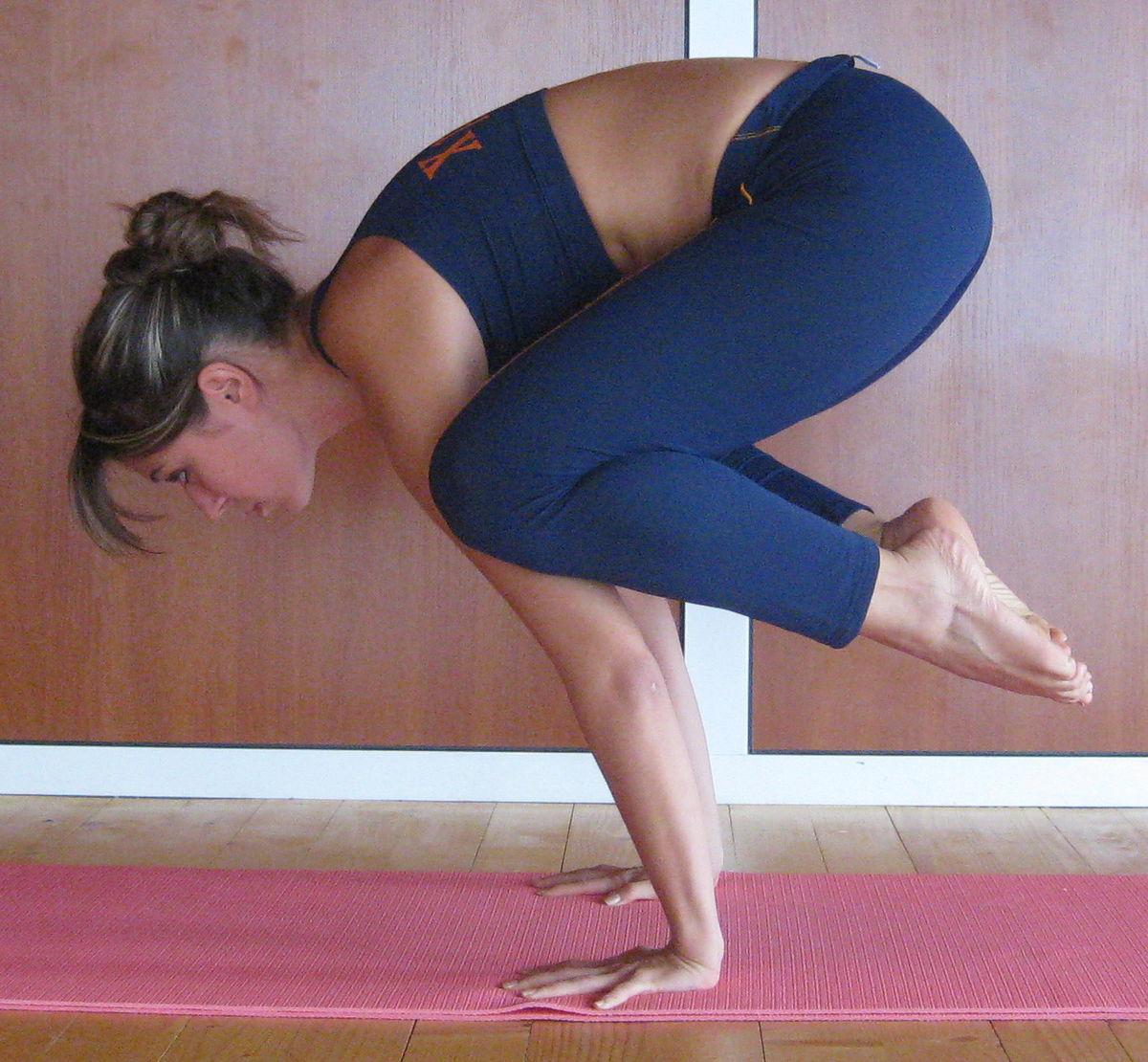 Crow Pose Yoga Name