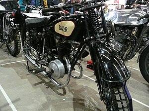 Frank E. Baker Motorcycles Ltd - 1927 Baker Supersport