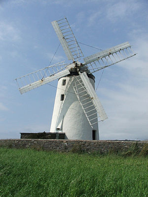 Millisle - Ballycopeland windmill from whence the town of Millisle derives its name