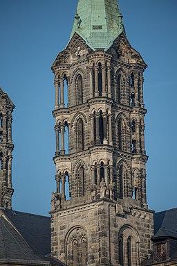 Bamberg, Dom, Ansicht von Südwesten-20170128-023