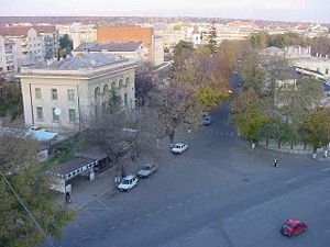 Huși - View of the city
