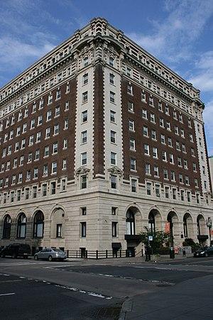 Esenwein & Johnson - Image: Bancroft Hotel Worcester MA