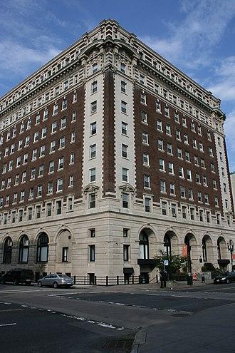 Bancroft Hotel - Image: Bancroft Hotel Worcester MA
