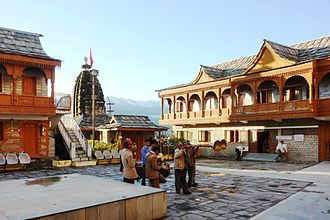 Sarahan - Band at Bimakali Temple