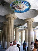 Barcellona parc guell detail
